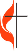 United Methodist Flame and Cross Logo