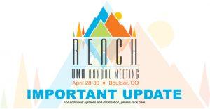 UMA Annual Meeting Important Update
